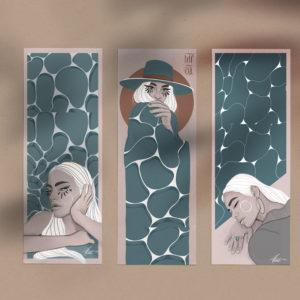 Aqua Feelings set by Nast Enna
