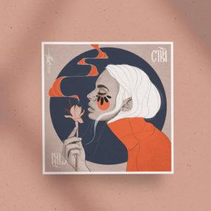 Poster print Le Parfum by Nast Enna